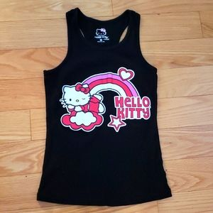 Hello Kitty Rainbow 🌈 Racerback Tank Size Medium